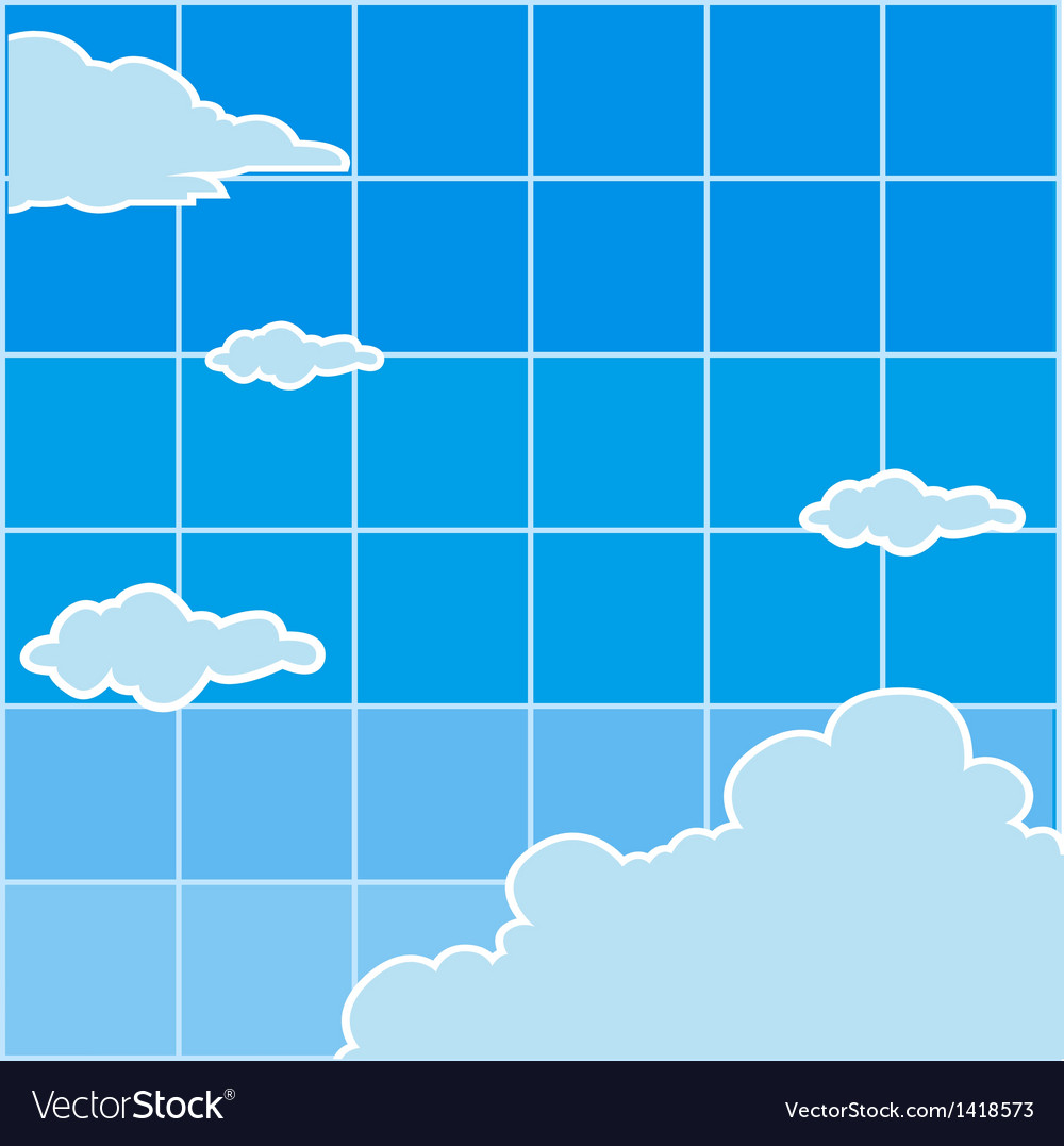 Clear sky background vector | Price: 1 Credit (USD $1)