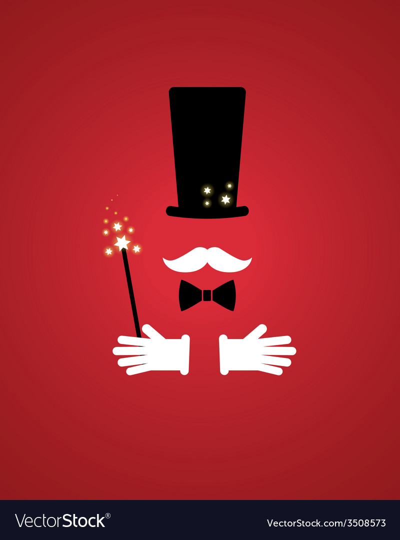 Magician props vector | Price: 1 Credit (USD $1)