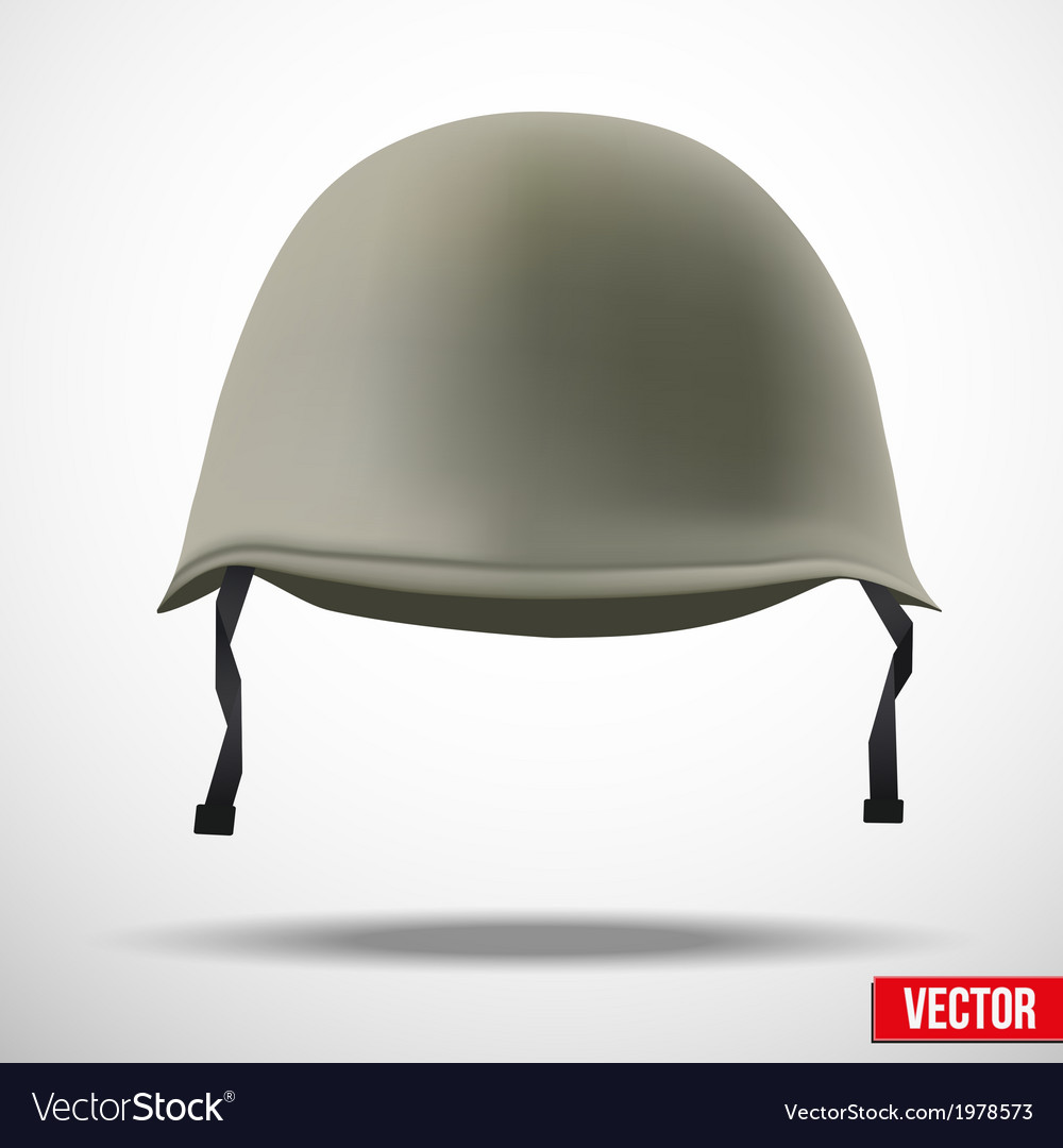 Military classic helmet vector | Price: 1 Credit (USD $1)
