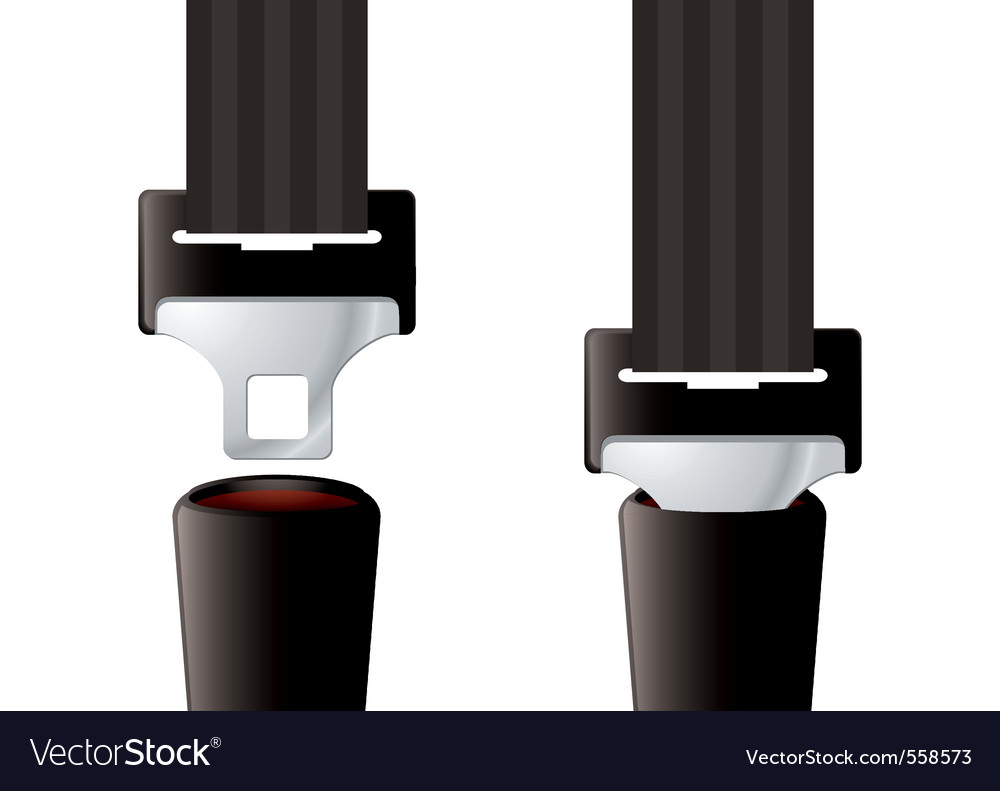Seat belt vector | Price: 3 Credit (USD $3)