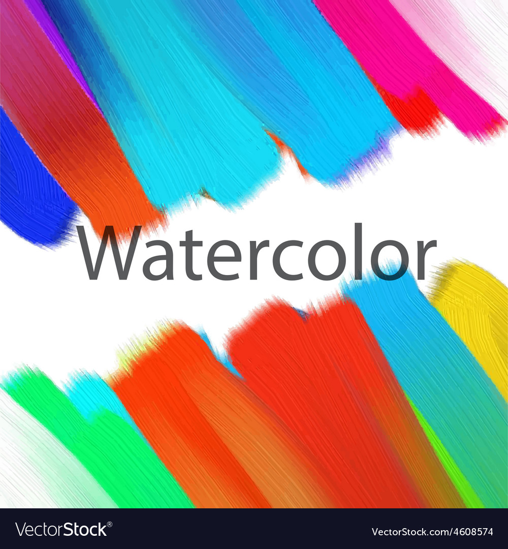 Abstract acrylic painted background vector | Price: 1 Credit (USD $1)