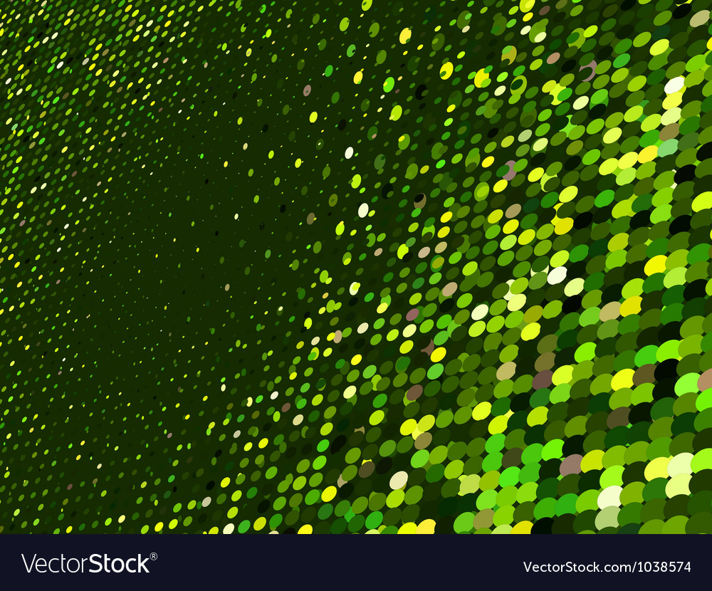 Abstract dot green mosaic background eps 8 vector | Price: 1 Credit (USD $1)