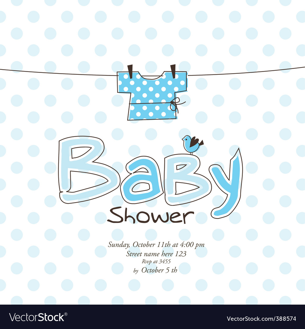 Baby arrival card vector   Price: 1 Credit (USD $1)