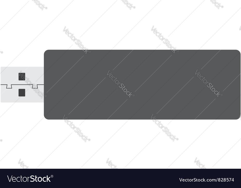 Flash memory vector | Price: 1 Credit (USD $1)