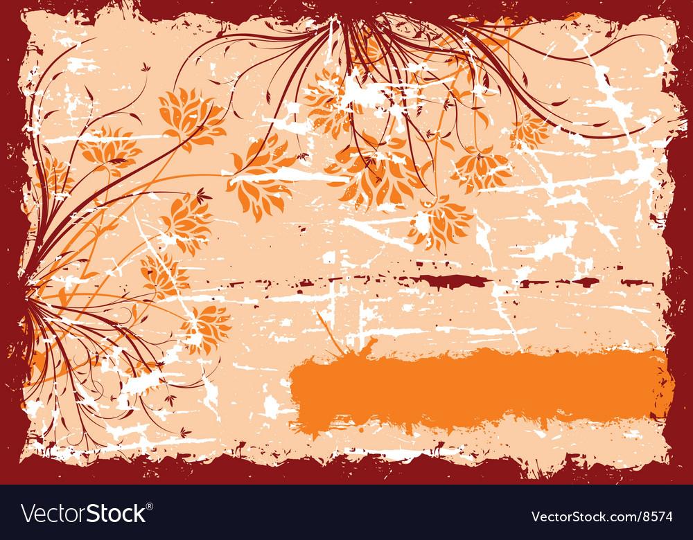 Floral vector | Price: 1 Credit (USD $1)