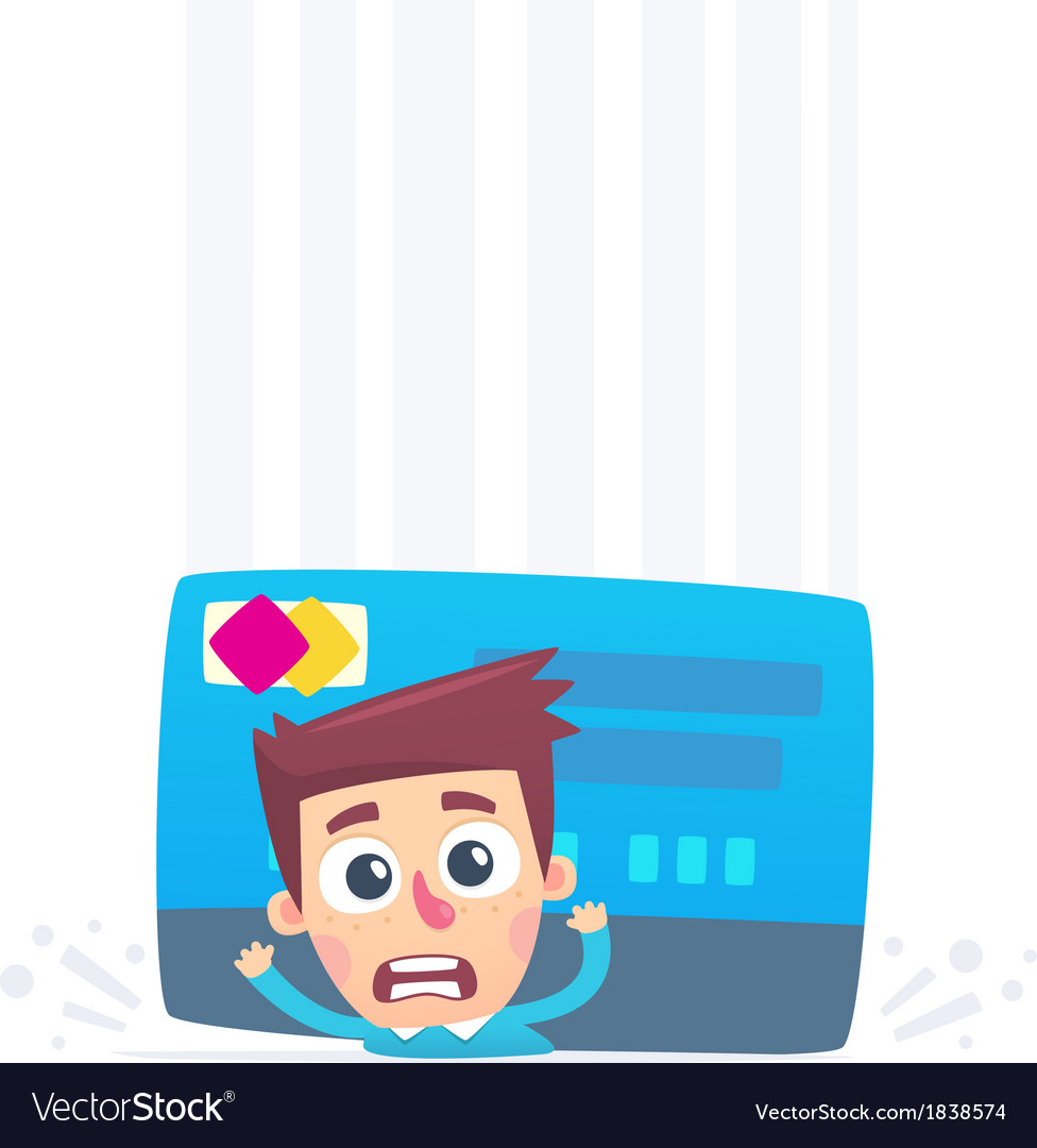 Problems with credit card vector | Price: 1 Credit (USD $1)