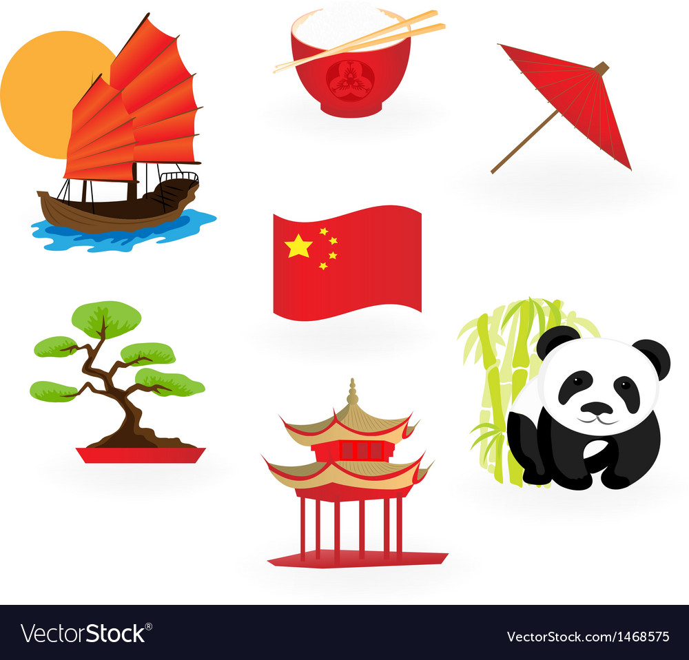 Chinese icons vector   Price: 1 Credit (USD $1)