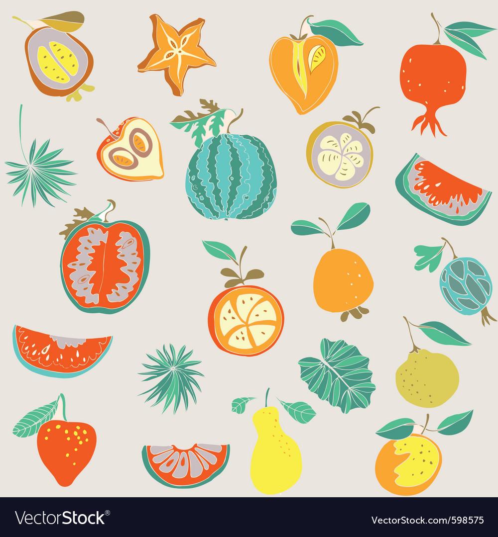 Food vintage wallpaper vector   Price: 1 Credit (USD $1)