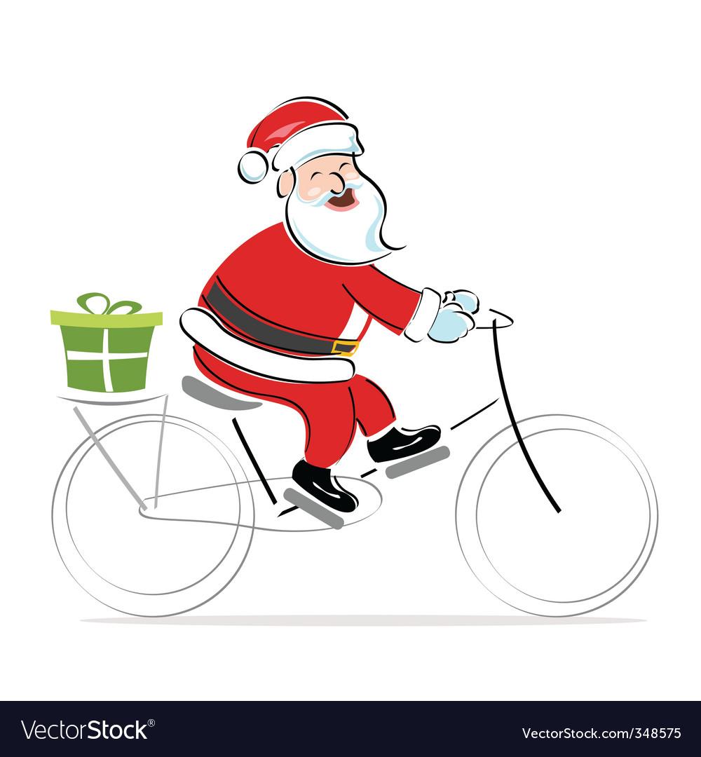 Santa claus background vector | Price: 1 Credit (USD $1)