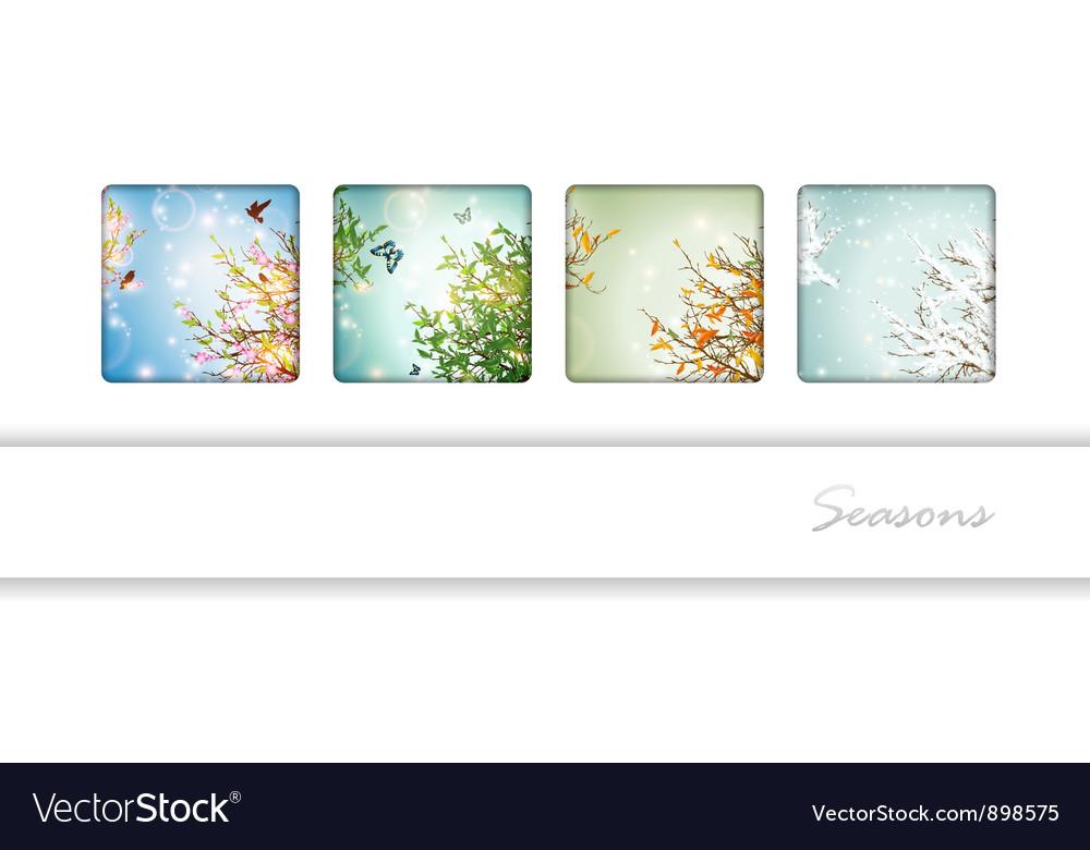 Seasons vector   Price: 1 Credit (USD $1)