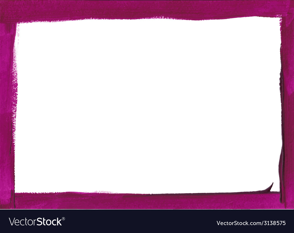 Violet grunge frame vector | Price: 1 Credit (USD $1)