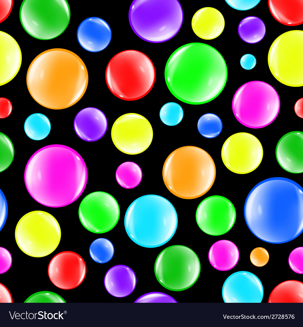 Bubbles color background vector | Price: 1 Credit (USD $1)