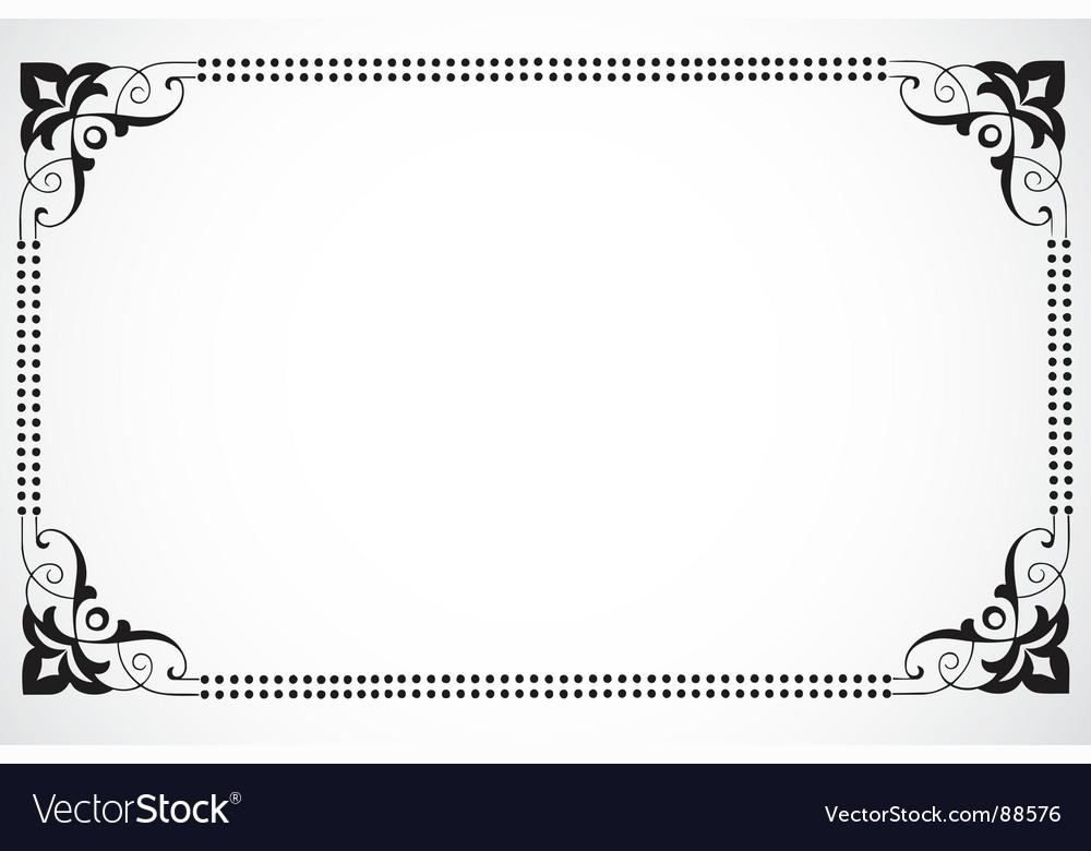 Dot frame vector | Price: 1 Credit (USD $1)