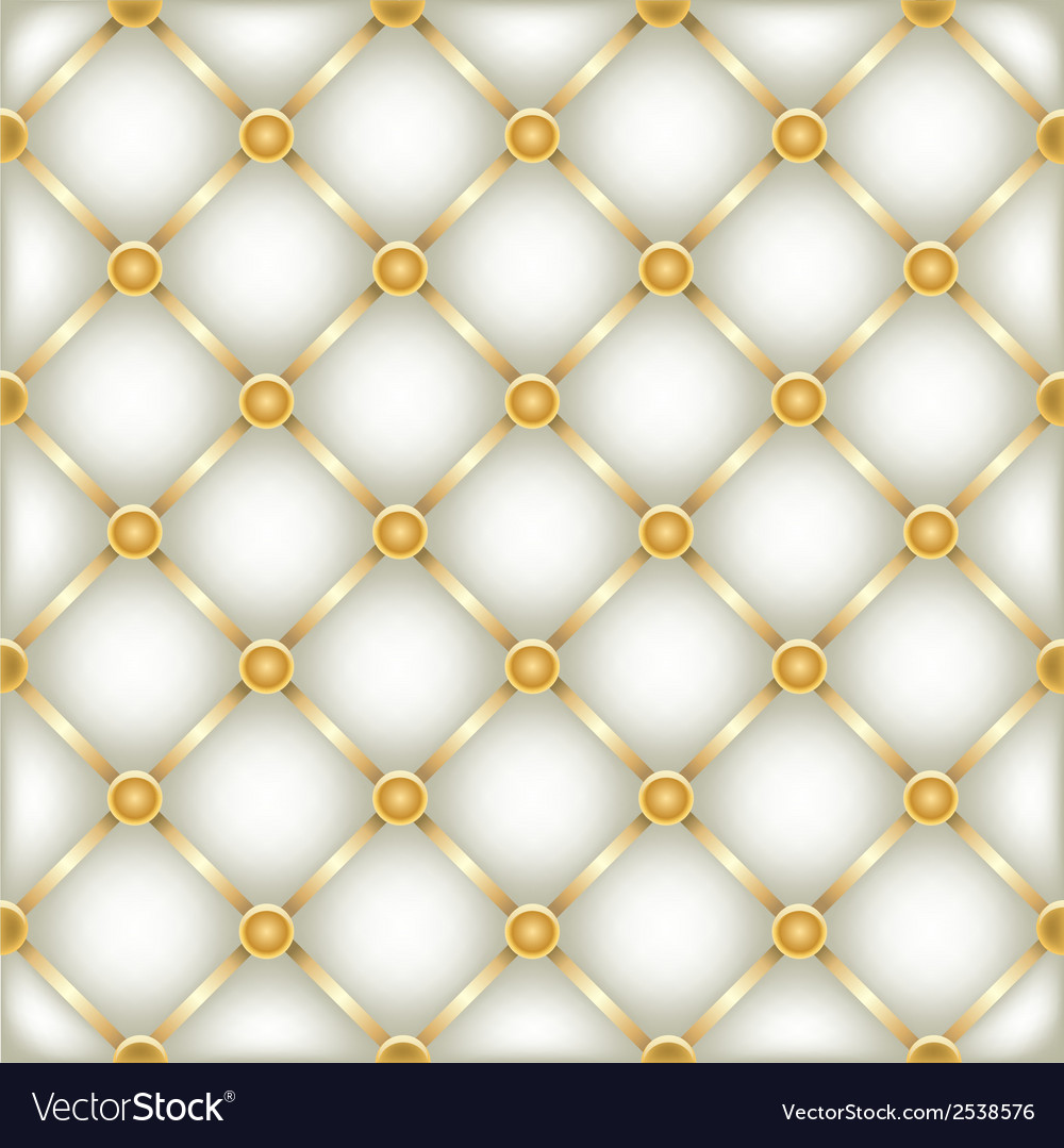 Golden white leather furniture texture vector | Price: 1 Credit (USD $1)
