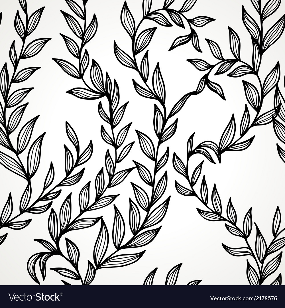 Seamless hand drawn pattern vector | Price: 1 Credit (USD $1)