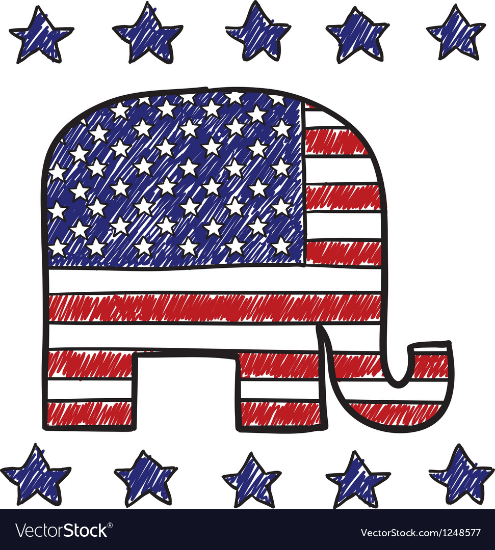 American republican vector | Price: 1 Credit (USD $1)