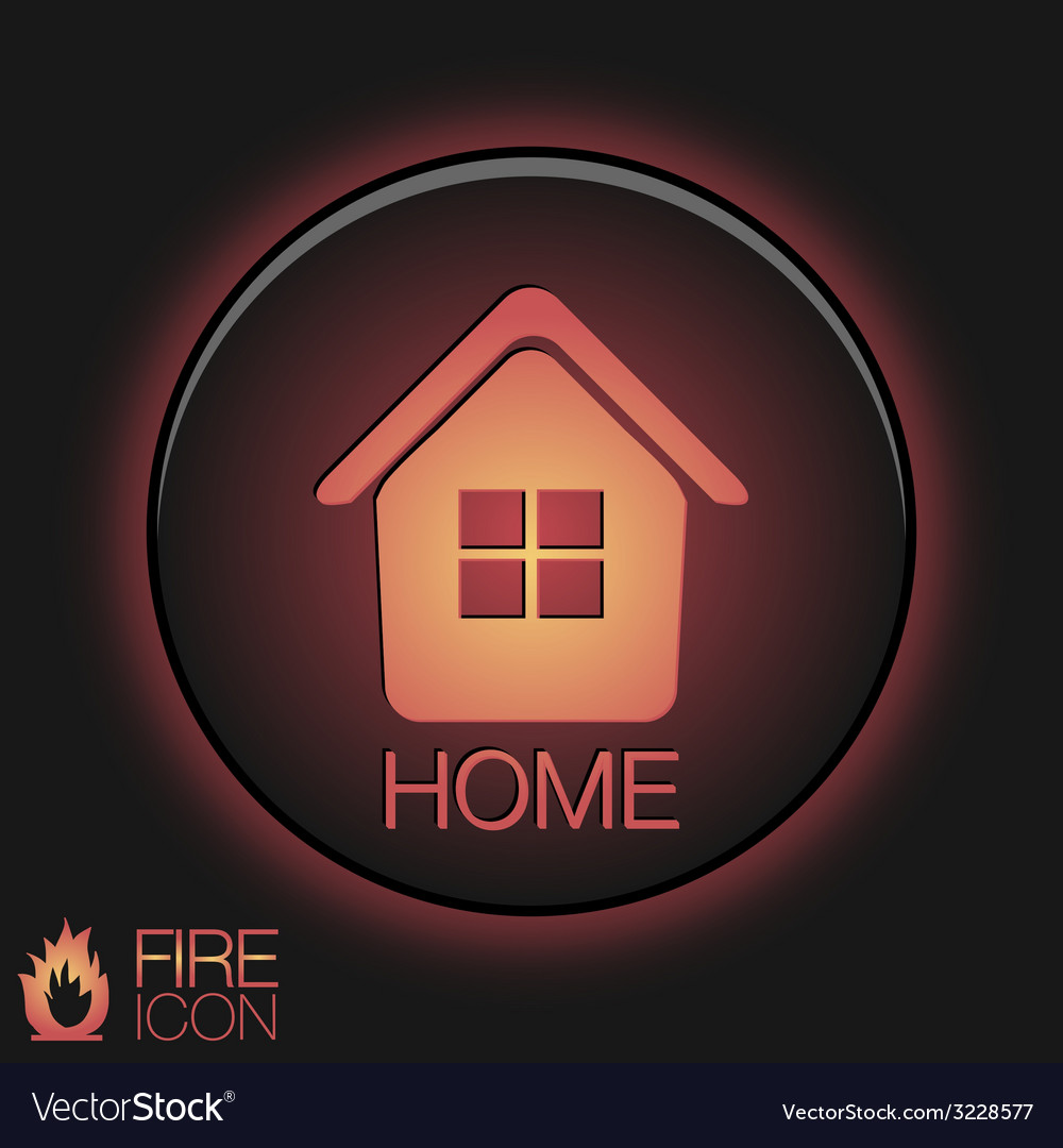 House icon home sign vector   Price: 1 Credit (USD $1)
