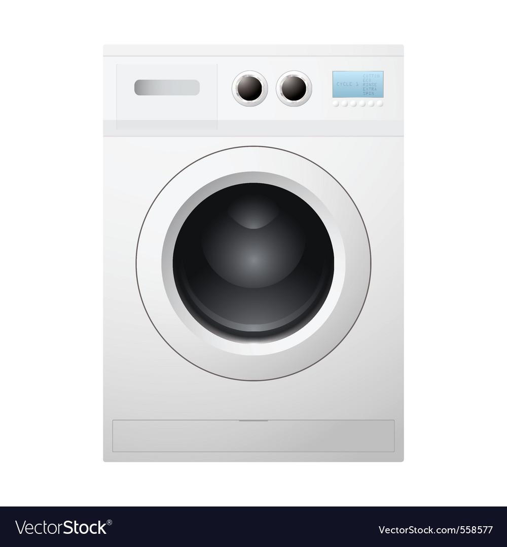 Washing machine vector | Price: 3 Credit (USD $3)