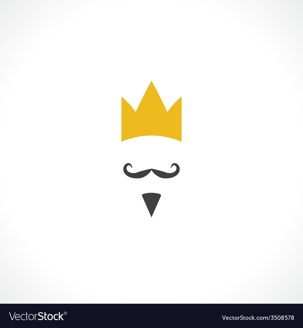 King icon vector | Price: 1 Credit (USD $1)