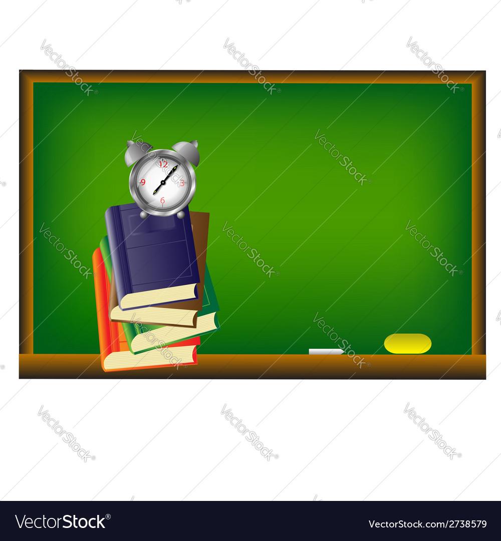 School background vector | Price: 1 Credit (USD $1)