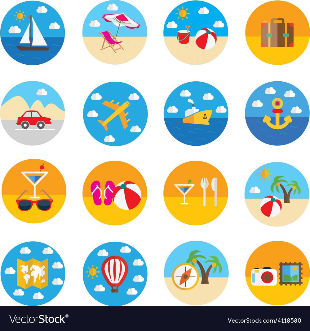 Travel icon vector   Price: 1 Credit (USD $1)