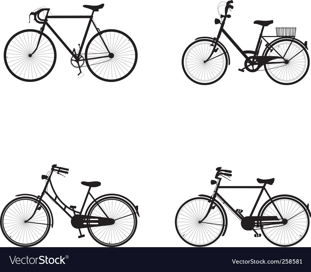 Bicycles vector | Price: 1 Credit (USD $1)