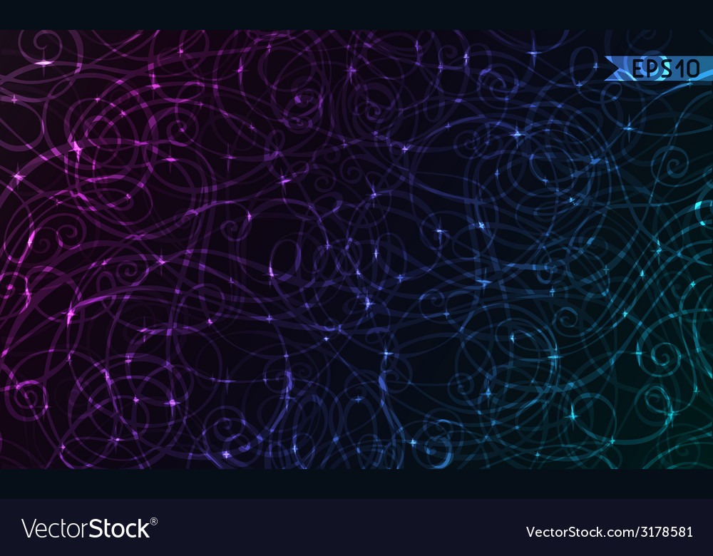 Colorful doodles background vector | Price: 1 Credit (USD $1)