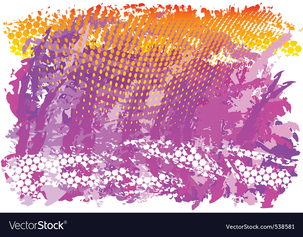Purple and orange abstract background vector | Price: 1 Credit (USD $1)