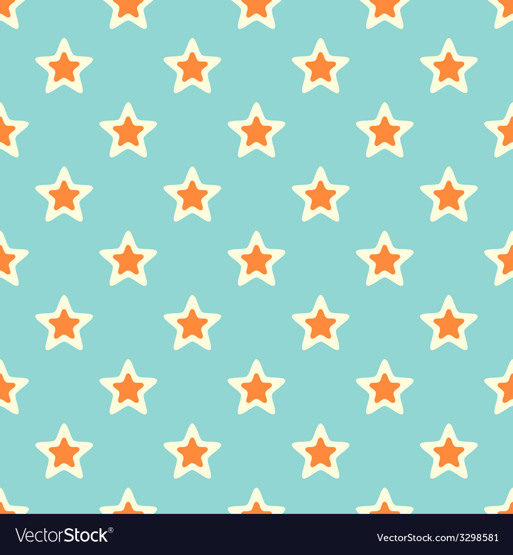 Retro texture with stars vector | Price: 1 Credit (USD $1)