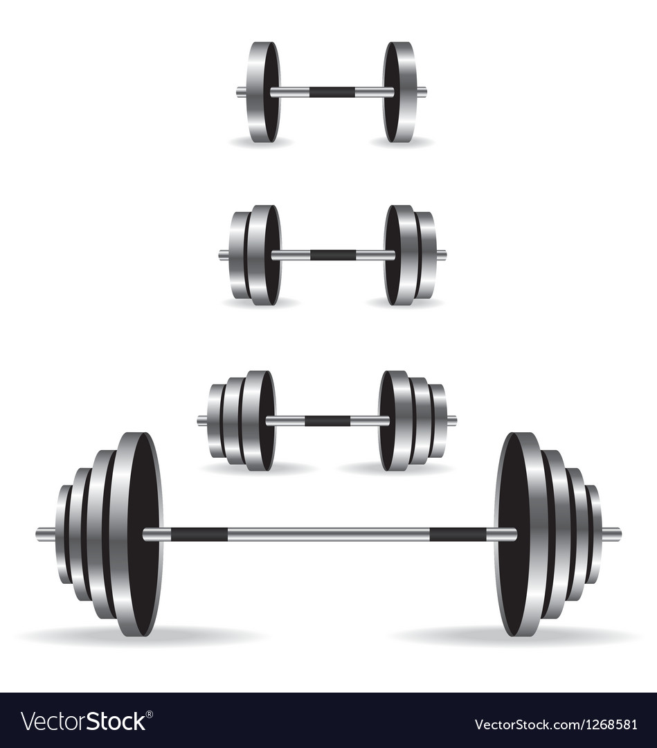 Weights collection vector | Price: 3 Credit (USD $3)