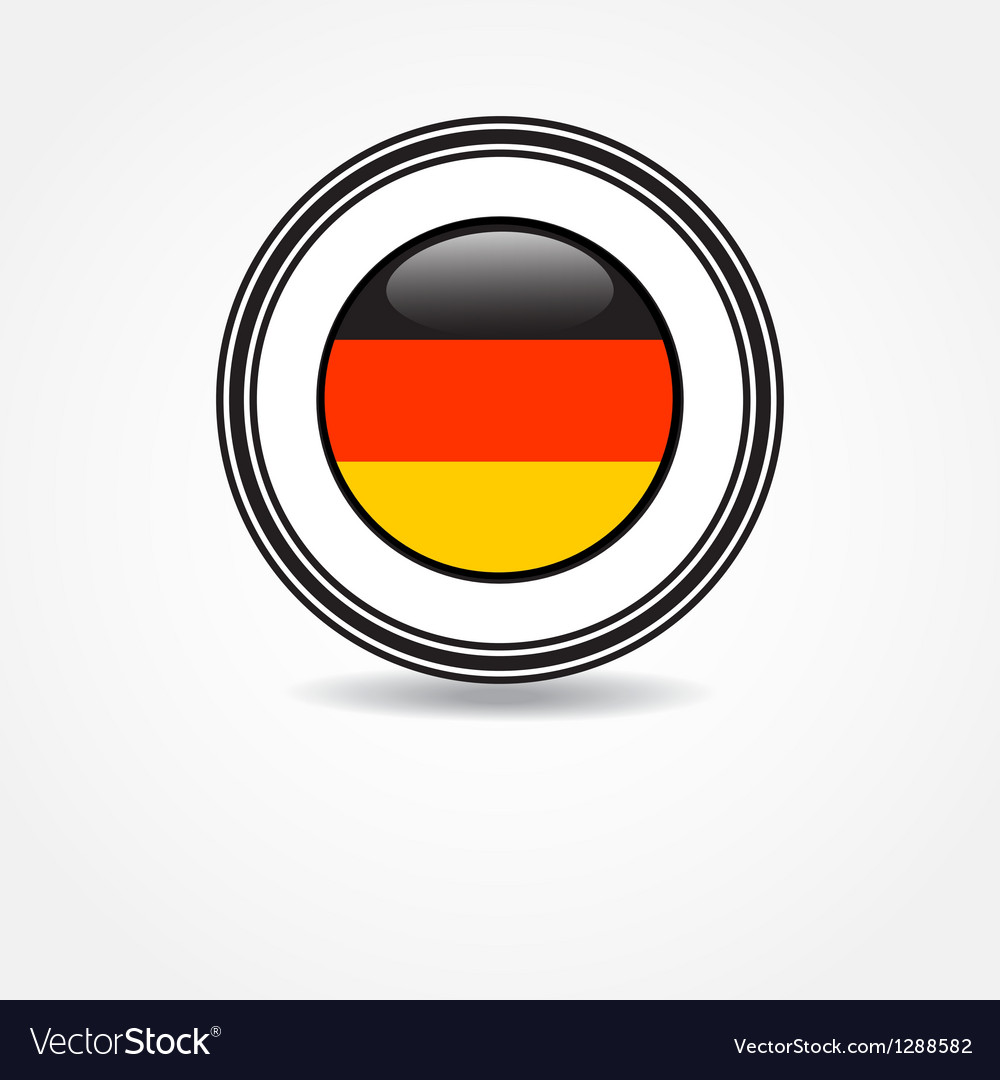 Label germany flag in rubber stamp vector | Price: 1 Credit (USD $1)