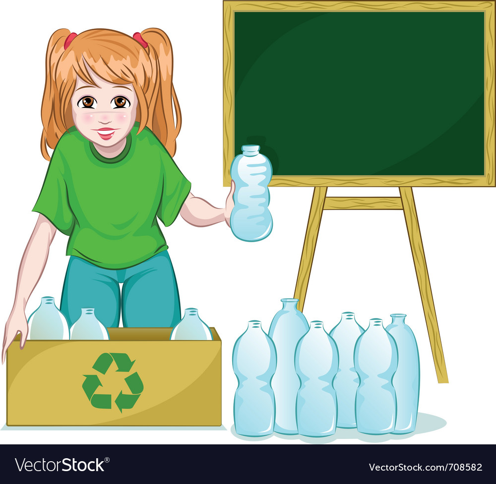 Recycling bottles vector | Price: 3 Credit (USD $3)