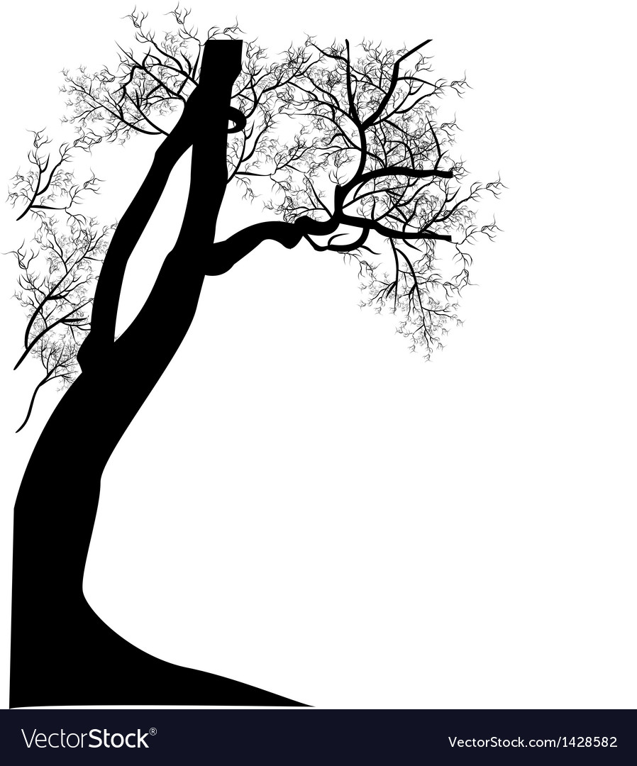 Tree floral vector | Price: 1 Credit (USD $1)