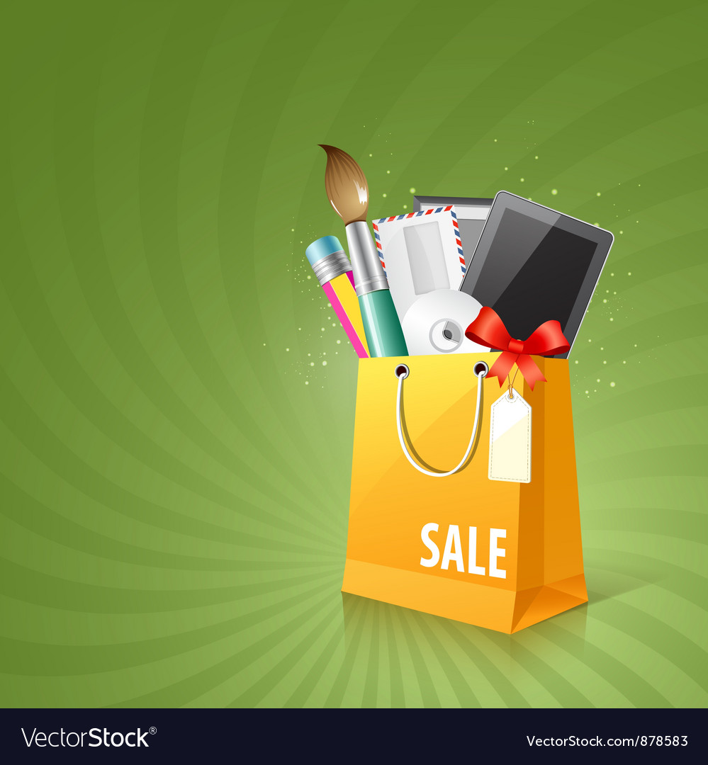 Art design bag vector | Price: 3 Credit (USD $3)