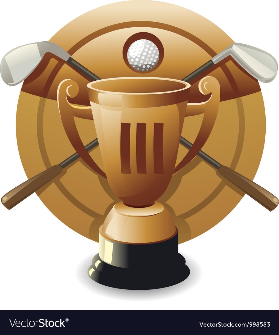 Bronze award vector | Price: 1 Credit (USD $1)
