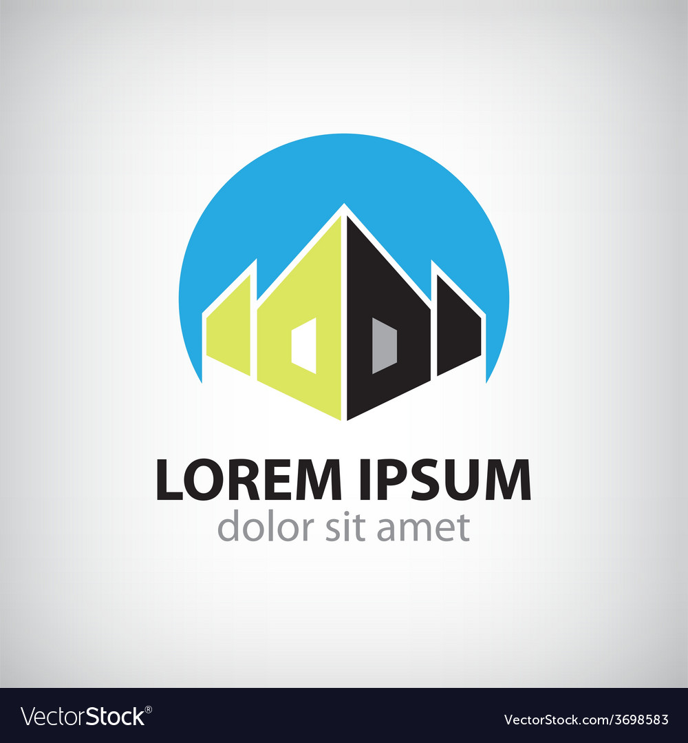 House icon logo isolated vector | Price: 1 Credit (USD $1)