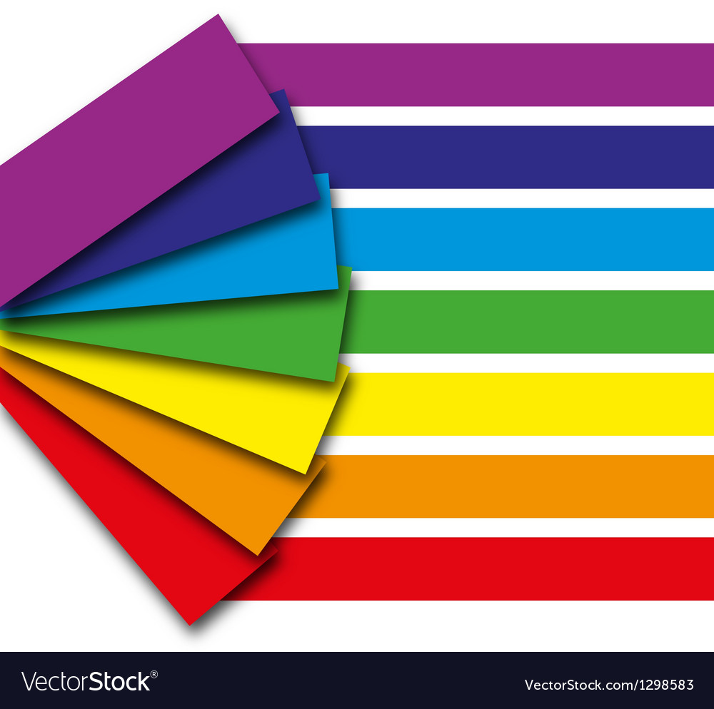 Rainbow book vector | Price: 1 Credit (USD $1)