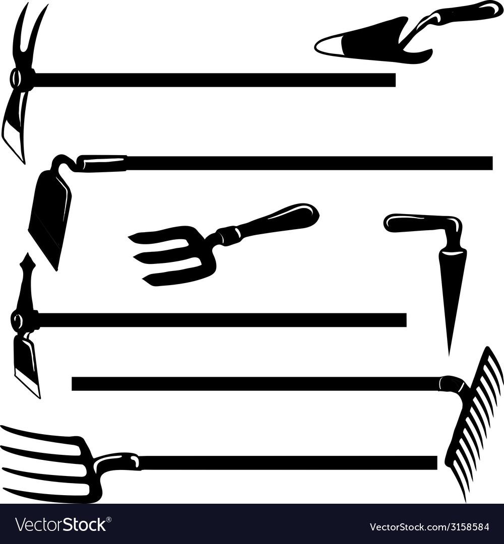 Garden tools- vector | Price: 1 Credit (USD $1)