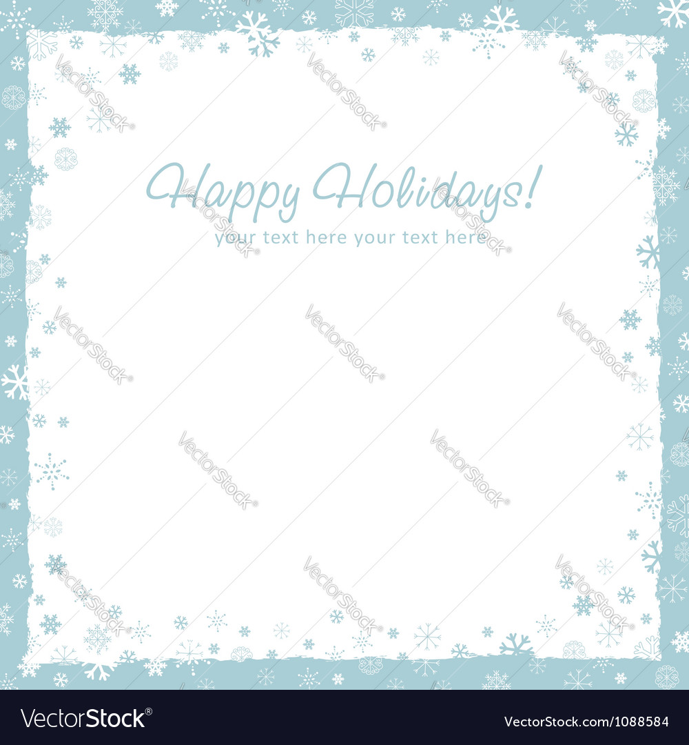 New year christmas background with snowflakes vector | Price: 1 Credit (USD $1)