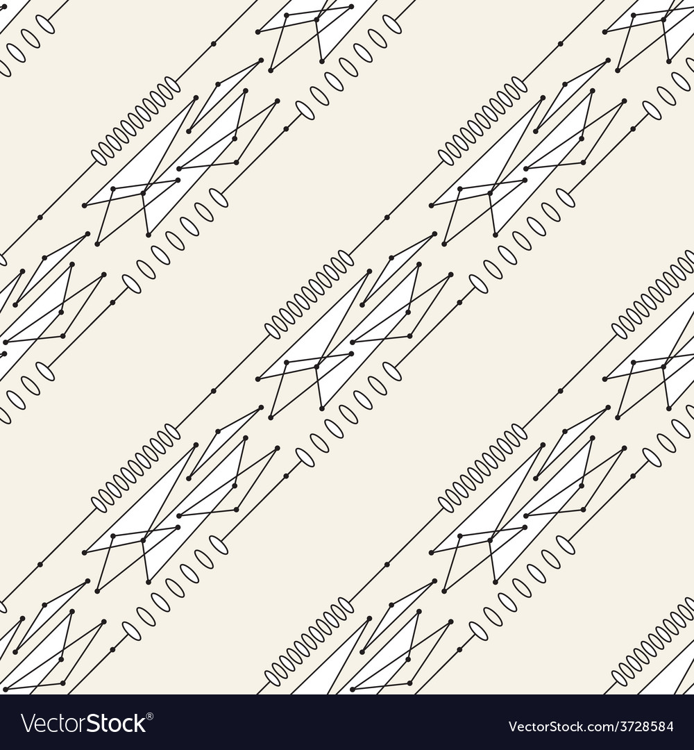 Seamless line pattern tile background geometric vector   Price: 1 Credit (USD $1)
