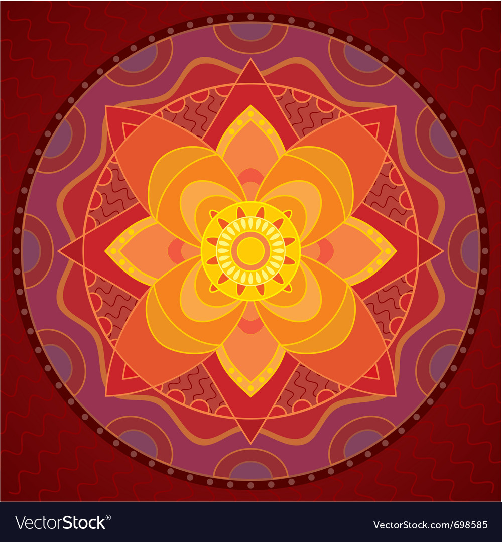 Indian style ornament vector | Price: 1 Credit (USD $1)