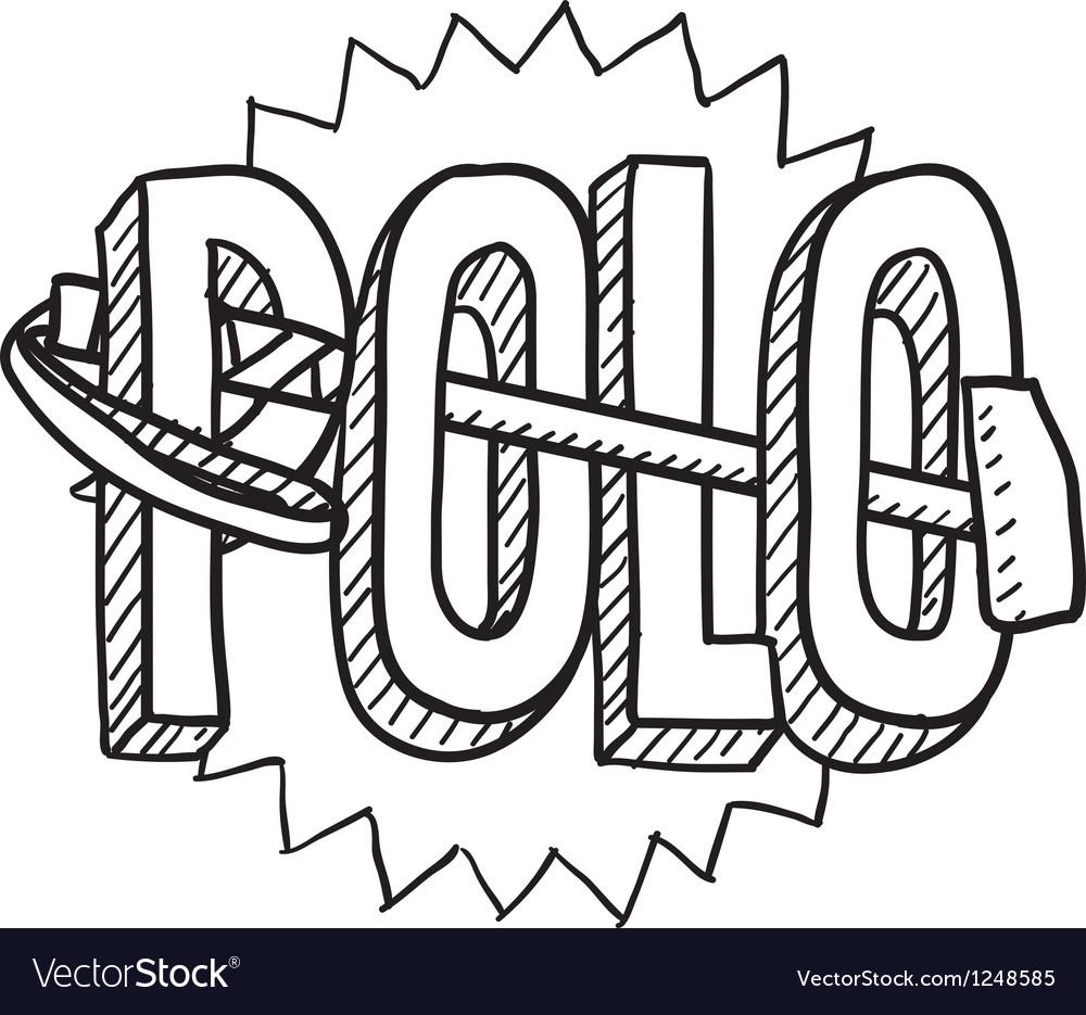 Polo vector | Price: 1 Credit (USD $1)
