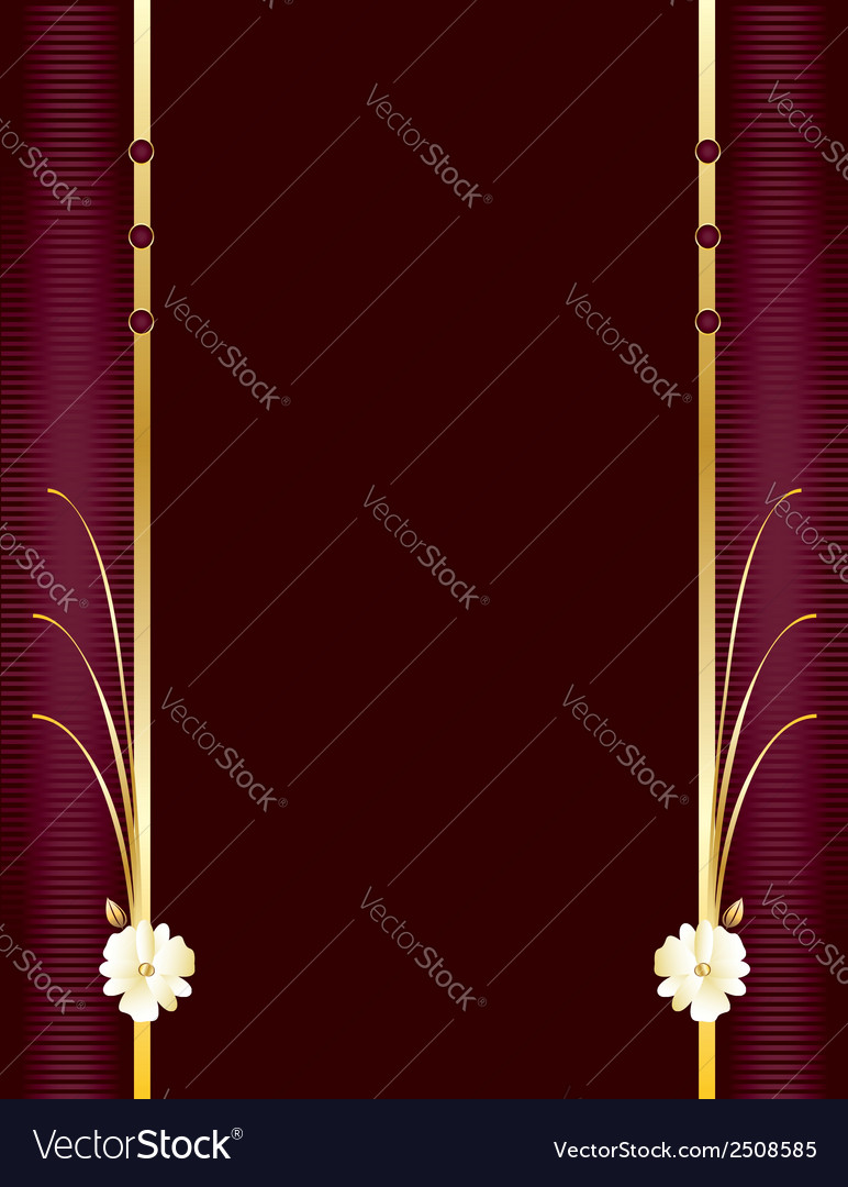 Purple and gold elegant background 4 vector | Price: 1 Credit (USD $1)