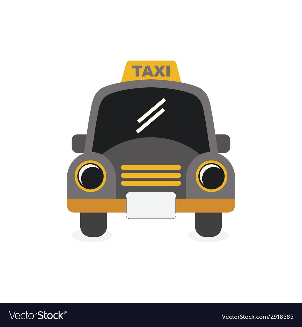 Taxi icon vector | Price: 1 Credit (USD $1)