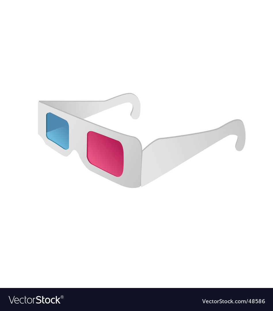 3d glasses vector | Price: 1 Credit (USD $1)