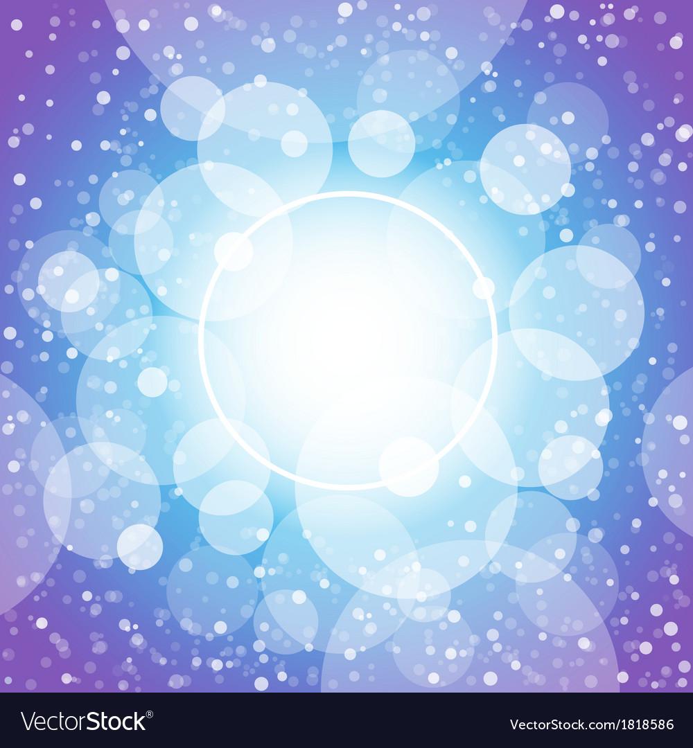 Blue shining circles and stars vector   Price: 1 Credit (USD $1)