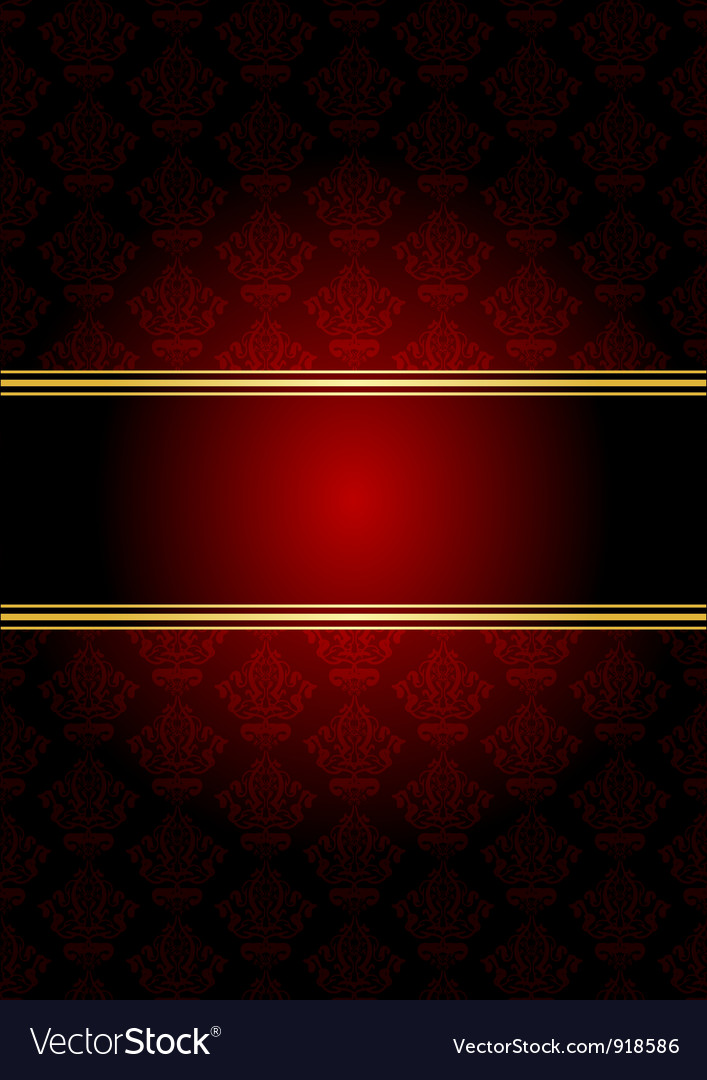 Red gold wallpaper vector | Price: 1 Credit (USD $1)