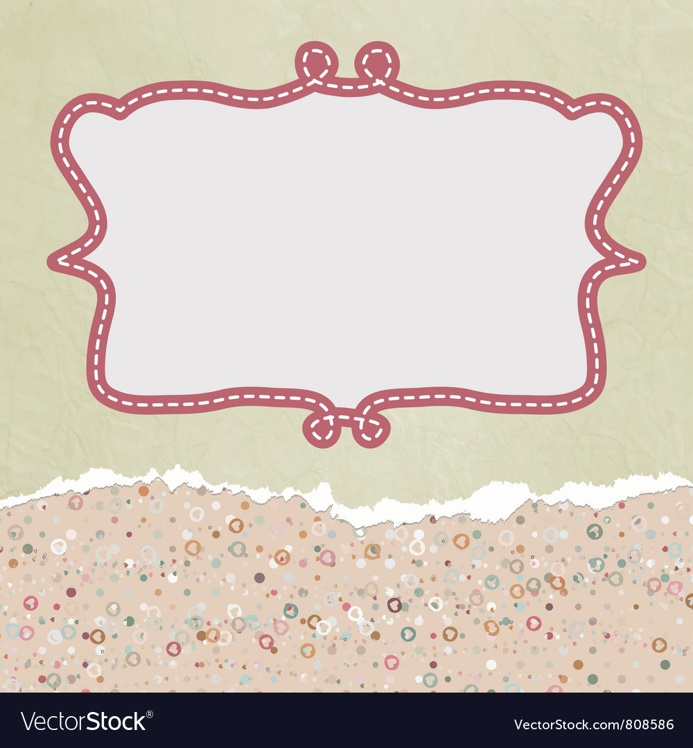 Valentines copyspace card vector | Price: 1 Credit (USD $1)