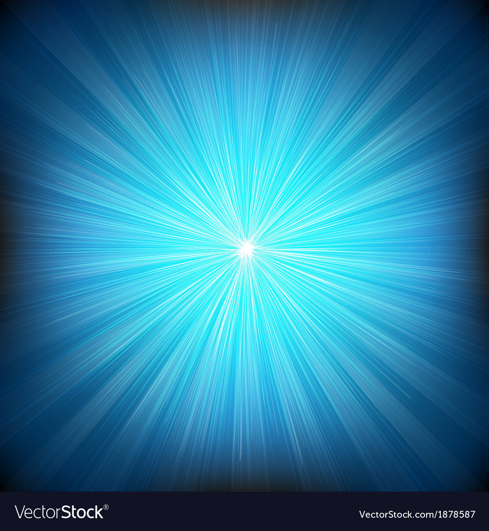 Blue burst and stars vector | Price: 1 Credit (USD $1)