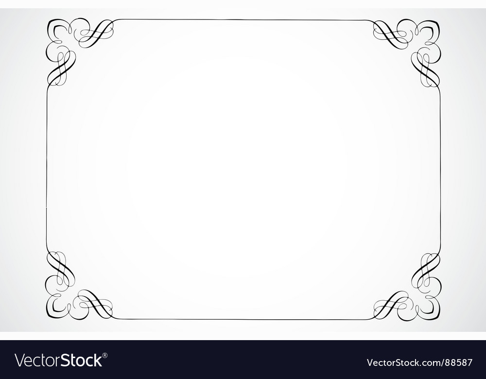 Certificate frame vector | Price: 1 Credit (USD $1)